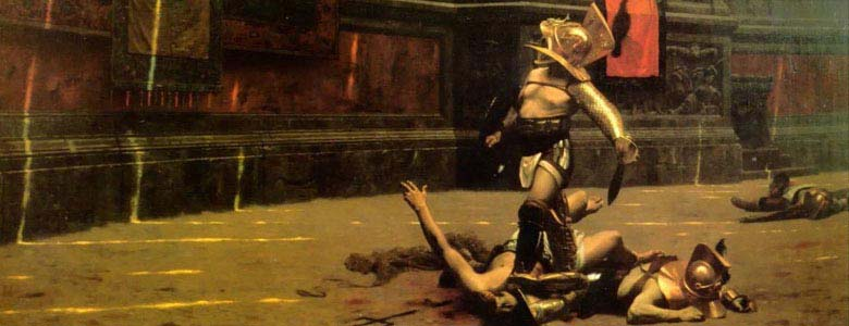 The Games:: only Gladiator fights in the Colosseum? Not at all! Find out the different games that were held...